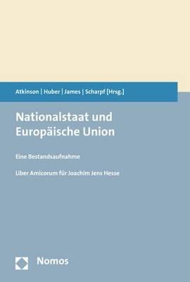 Nationalstaat Und Europaische Union by Anthony B Atkinson