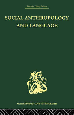 Social Anthropology and Language book