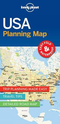 Lonely Planet USA Planning Map book