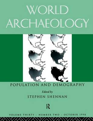 Population and Demography by Stephen Shennan