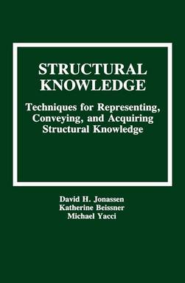 Structural Knowledge by David H. Jonassen