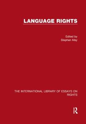 Language Rights by Professor Stephen May
