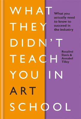 What They Didn't Teach You in Art School: What you need to know to survive as an artist by Rosalind Davis