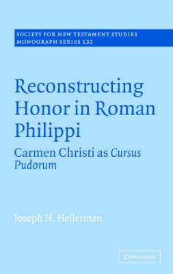 Reconstructing Honor in Roman Philippi book