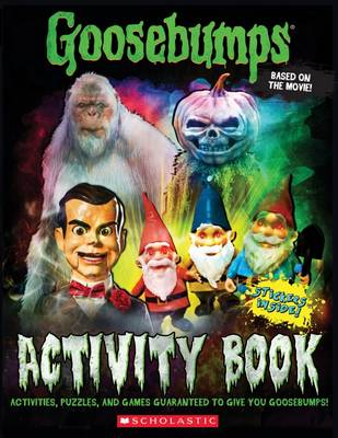 GOOSEBUMPS MOVIE ACTIVITY PK book