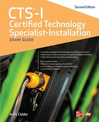 CTS-I Certified Technology Specialist-Installation Exam Guide, Second Edition by AVIXA Inc.
