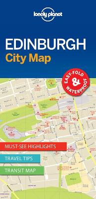 Lonely Planet Edinburgh City Map book