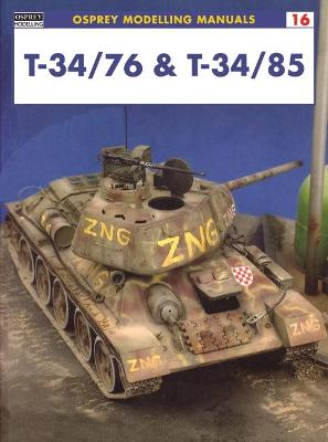 Modelling the T34/76 and T34/85 book