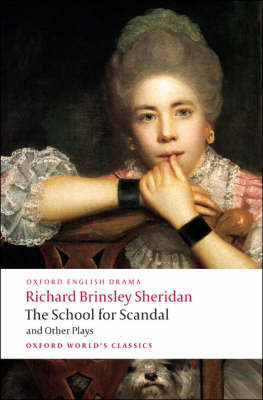 School for Scandal and Other Plays by Michael Cordner