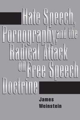 Hate Speech, Pornography, And Radical Attacks On Free Speech Doctrine by James Weinstein