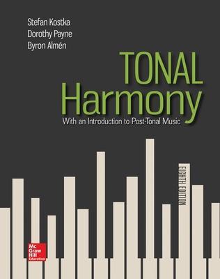Tonal Harmony by Stefan Kostka