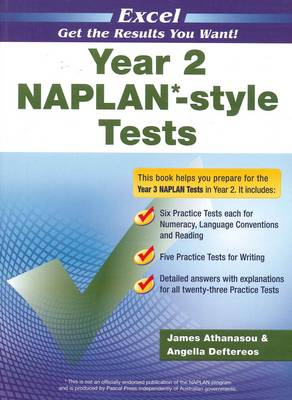 Excel Year 2 NAPLAN*-style Tests book