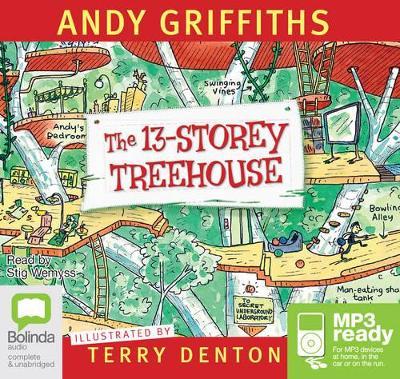 13-Storey Treehouse book