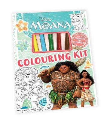 MOANA COLOURING KIT book
