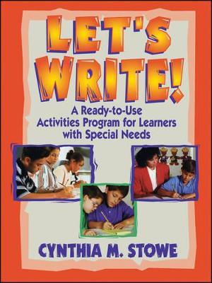 Let's Write! by Cynthia M. Stowe