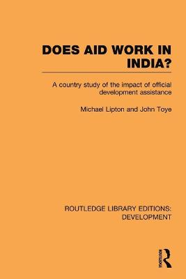 Does Aid Work in India? book