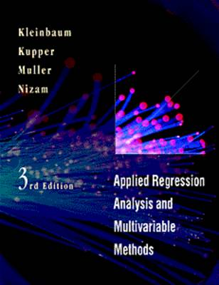 Applied Regression Analysis and Multivariable Methods by Keith E. Muller
