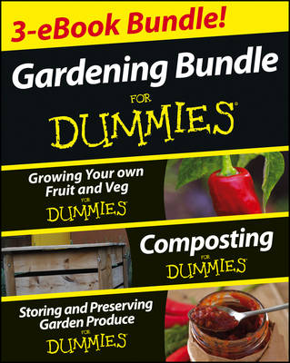 Gardening for Dummies Three Ebook Bundle by Geoff Stebbings