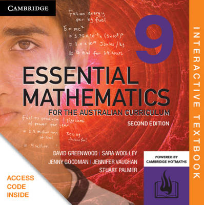 Essential Mathematics for the Australian Curriculum Year 9 Digital (Card) by David Greenwood