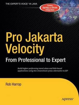 Pro Jakarta Velocity by Rob Harrop