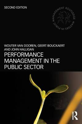 Performance Management in the Public Sector book