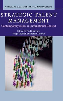 Strategic Talent Management by Paul Sparrow