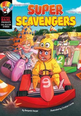 Side-Splitting Stories: Super Scavengers book