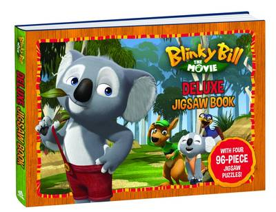Blinky Bill the Movie Deluxe Jigsaw Book by Bark prod. Flying