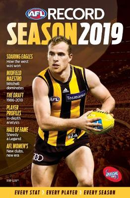 AFL Record Season 2019: The official statistical history of the AFL game. book