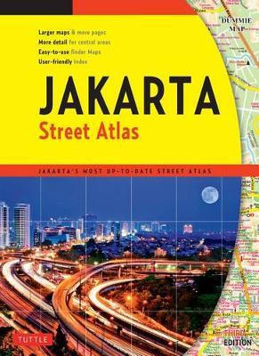 Street Atlas Jakarta by Tuttle Editors