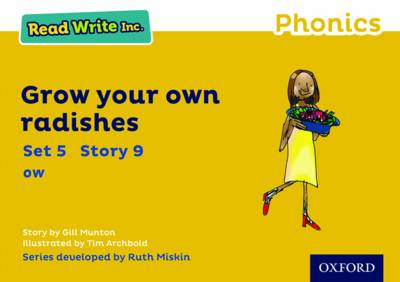 Read Write Inc. Phonics: Yellow Set 5 Storybook 9 Grow Your Own Radishes book