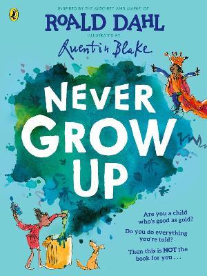 Never Grow Up book
