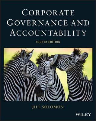 Corporate Governance and Accountability by Jill Solomon