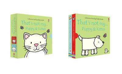 That's Not My ... Puppy and Kitten Boxed Set book