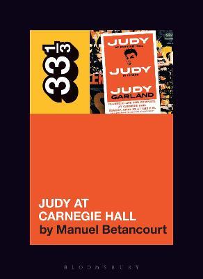 Judy Garland's Judy at Carnegie Hall book