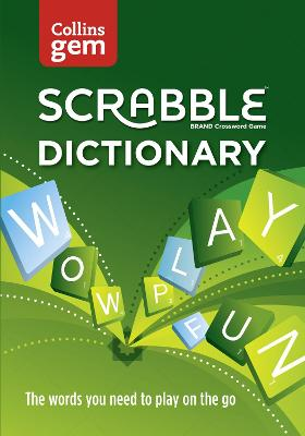 Collins Scrabble Dictionary Gem Edition by Collins Dictionaries