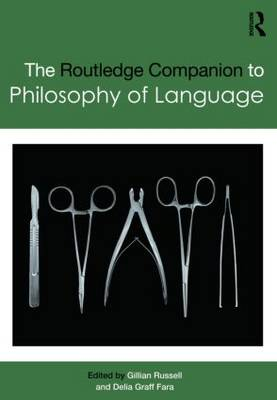 Routledge Companion to Philosophy of Language book