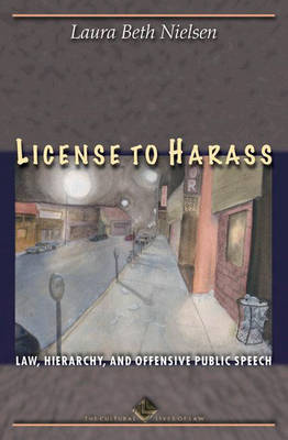 License to Harass book
