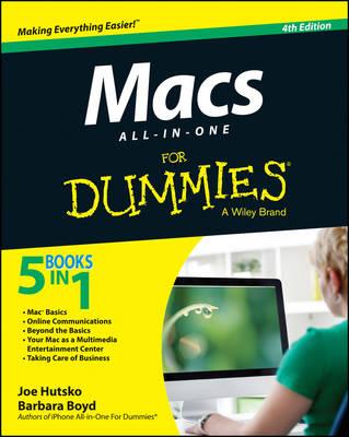 Macs All-in-One For Dummies by Joe Hutsko
