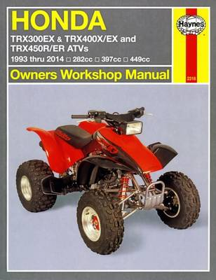 Honda TRX/EX/R/ER Automotive Repair Manual by Mike Stubblefield