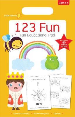 Little Genius Small Pad 123 Fun book