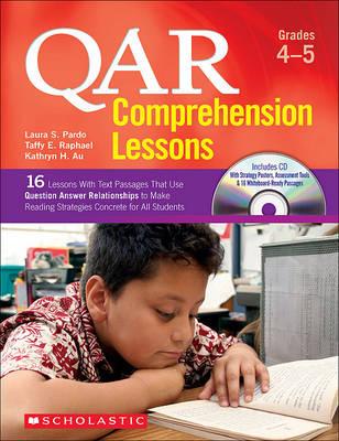 Qar Comprehension Lessons: Grades 4-5 by Taffy Raphael