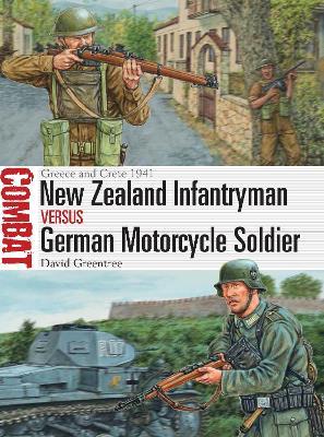 New Zealand Infantryman vs German Motorcycle Soldier by David Greentree