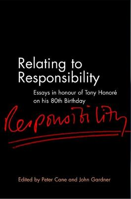 Relating to Responsibility by Peter Cane