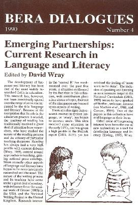 Emerging Partnerships:  Current Research in Language and Literacy by David Wray