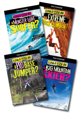 Extreme Sports Adventures: Could You Be... Set of 4 by Blake Hoena