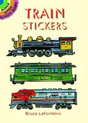 Train Stickers by Bruce LaFontaine
