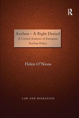 Asylum - A Right Denied by Helen O'Nions
