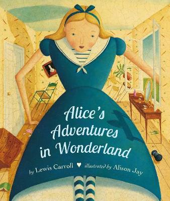Alice's Adventures in Wonderland Board Book by Lewis Carroll