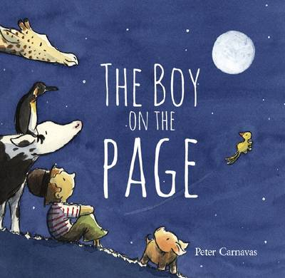 Boy on the Page by Peter Carnavas